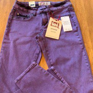 Girls Purple Lei Jeans